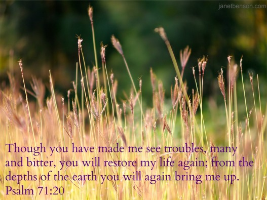 weeds Psalm 71.20