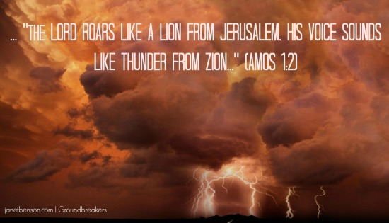 thunder from zion _ Amos 1.2