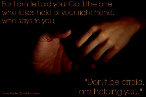 I am helping you hands